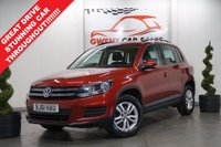 2011 VOLKSWAGEN TIGUAN 2.0 S TDI BLUEMOTION TECHNOLOGY 5d 138 BHP £6290.00