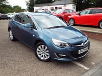 USED 2014 VAUXHALL ASTRA 2.0 ELITE CDTI 5d AUTO 163 BHP Low Mileage DIESEL AUTOMATIC