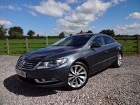 USED 2013 13 VOLKSWAGEN CC 2.0 GT TDI BLUEMOTION TECHNOLOGY 4d 138 BHP EXCELLENT SPECIFICATION
