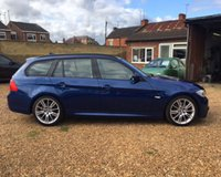 USED 2010 60 BMW 3 SERIES 320D M SPORT BUSINESS EDITION TOURING MOT 2nd July 2018 (No Adv) - SatNav - Full Leather - FSH - 6M Warrany