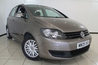 USED 2009 09 VOLKSWAGEN GOLF PLUS 1.4 S 5DR 79 BHP FULL SERVICE HISTORY + AIR CONDITIONING + BLUETOOTH + RADIO/CD + ELECTRIC WINDOWS + ALLOY WHEELS