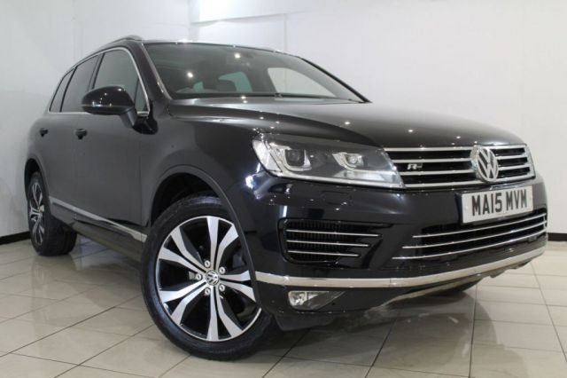 View our 2015 15 VOLKSWAGEN TOUAREG 3.0 V6 R-LINE TDI BLUEMOTION TECHNOLOGY 5DR AUTOMATIC 259 BHP