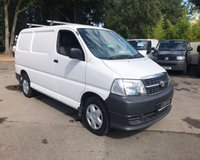 USED 2010 10 TOYOTA HI-ACE 2.5 280 SWB D-4D 95 AIR CON Air Conditioning, Bluetooth, Electric Windows and Mirrors