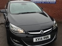 USED 2014 14 VAUXHALL ASTRA 1.6 ELITE 5d 115 BHP AUTOMATIC, ONLY 16K MILES