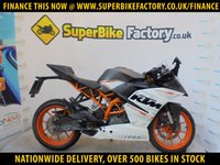 USED 2015 65 KTM RC 390  GOOD & BAD CREDIT ACCEPTED, OVER 500+ BIKES
