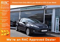 USED 2012 12 FORD FIESTA 1.4 TITANIUM TDCI 5d 69 BHP FINANCE FROM £88.51 per Month or £22.12 per week