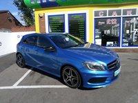 2013 MERCEDES-BENZ A CLASS 2.1 A220 CDI BLUEEFFICIENCY AMG SPORT 5d AUTO 170 BHP £15000.00