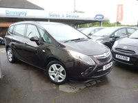 USED 2014 14 VAUXHALL ZAFIRA TOURER 1.4 EXCLUSIV 5d 138 BHP NEED FINANCE? WE STRIVE FOR 94% ACCEPTANCE