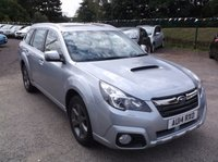 USED 2014 14 SUBARU OUTBACK 2.0 D SX 5d AUTO 148 BHP FULL SUBARU SERVICE HISTORY !! ***Stunning example - High specification - Drives superbly***