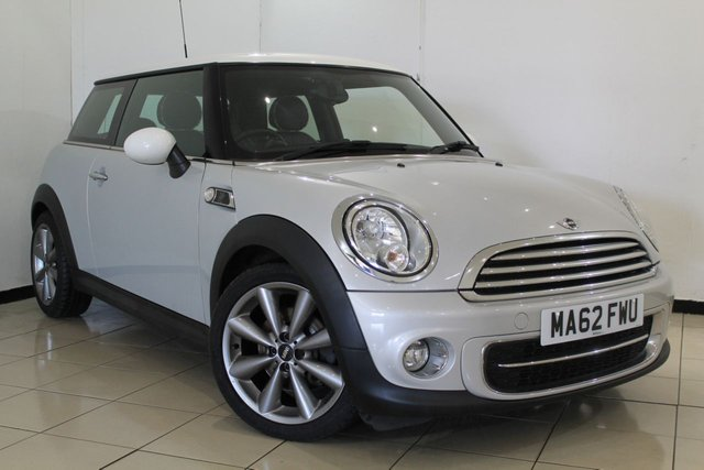 View our 2012 62 MINI HATCH COOPER 1.6 COOPER D LONDON 2012 EDITION 3DR 110 BHP