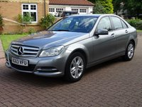 USED 2013 63 MERCEDES-BENZ C CLASS 2.1 C220 CDI BLUEEFFICIENCY EXECUTIVE SE 4d 168 BHP FULL MERCEDES SERVICE HISTORY****  1 PREVIOUS KEEPER,   BLUETOOTH***  SAT NAV***  FRONT & REAR PARKING AID***