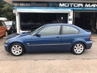 USED 2002 02 BMW 316ti Compact 1.8 1d
