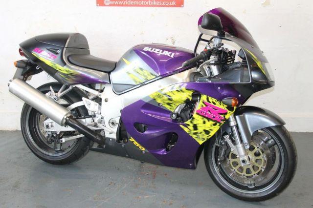2000 SUZUKI GSXR 750 SRAD