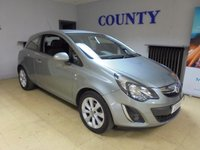USED 2014 64 VAUXHALL CORSA 1.0 EXCITE ECOFLEX 3d 64 BHP * ONE OWNER * FULL HISTORY *