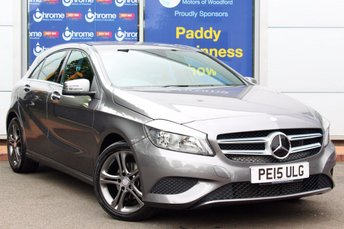 2015 MERCEDES-BENZ A CLASS 1.5 A180 CDI BLUEEFFICIENCY SPORT 5d 109 BHP £14995.00
