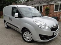 2013 VAUXHALL COMBO 1.3 CDTI 2300 L1H1 S/S SPORTIVE  £5575.00