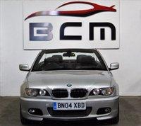 2004 BMW 3 SERIES 3.0 330CI SPORT 2d AUTO 228 BHP £4000.00