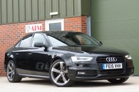 USED 2015 15 AUDI A4 2.0 TDI S LINE BLACK EDITION 4d 148 BHP AA DEALER PROMISE, DRIVE AWAY TODAY