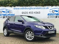 USED 2014 64 NISSAN QASHQAI 1.5 DCI ACENTA PREMIUM 5d 108 BHP 1 OWNER CAR , WITH FULL NISSAN HISTORY
