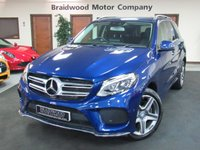 USED 2016 66 MERCEDES-BENZ GLE-CLASS 2.1 GLE 250 D 4MATIC AMG LINE 5d AUTO 201 BHP