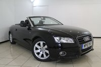 USED 2010 10 AUDI A5 2.0 TDI SE 2DR 168 BHP SERVICE HISTORY + LEATHER SEATS + 0% FINANCE AVAILABLE T&C'S APPLY + CLIMATE CONTROL + PARKING SENSOR + MULTI FUNCTION WHEEL + RADIO/CD + 17 INCH ALLOY WHEELS