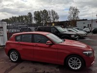 USED 2014 14 BMW 1 SERIES 1.6 116d EfficientDynamics Sports Hatch (s/s) 5dr BLUETOOTH+AIR CON