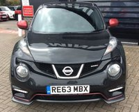 USED 2014 63 NISSAN JUKE 1.6 NISMO DIG-T 5d 200 BHP SUPERB DRIVE AND SPEC !!