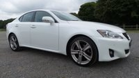 USED 2012 12 LEXUS IS 2.5 250 ADVANCE 4d AUTO 205 BHP F/S/H-5 X SERVICE STAMPS,FULL SCREEN SAT -NAV,ALLOYS,FRONT AND REAR PARKING SENSORS,REAR REVERSE CAMERA WITH GUIDE LINES,ELECTRIC HEATED SEATS,FOLDING MIRRORS,CRUISE CONTROL,FULL BLACK LEATHER,CLIMATE CONTROL