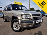 USED 2001 ISUZU TROOPER 3.0 LWB DT INSIGNIA 5d 157 BHP! p/x welcome! AUTO! 2 OWNERS! ELECTRIC S-ROOF! FULL LEATHER! CAMBELT DONE 2016! FULL S-HISTORY! NEW MOT! RUST FREE! FULL SPECS! BROWSE ME!  2OWNRS+FULL S-HIST+ELEC S-ROOF+ELEC+HEATED+LEATHER SEATS+CAM-BELT DONE 2016+RUST FREE BEAST!