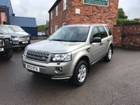USED 2013 13 LAND ROVER FREELANDER 2.2 TD4 GS 5d 150 BHP Very clean Freelander 2