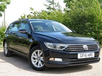USED 2015 15 VOLKSWAGEN PASSAT 2.0 S TDI BLUEMOTION TECHNOLOGY DSG 5d AUTO 148 BHP 1 OWNER! 50+ MPG! MUST SEE!