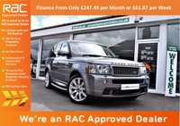 USED 2008 58 LAND ROVER RANGE ROVER SPORT 3.6 TDV8 SPORT HST 5d AUTO 269 BHP FINANCE FROM ONLY £247.49 per month