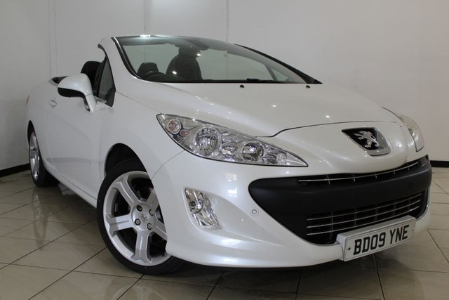 View our 2009 09 PEUGEOT 308 CC 1.6 THP CC GT 2DR 150 BHP