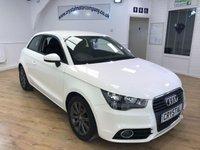 2013 AUDI A1 1.2 TFSI SPORT 3d 84 BHP £8995.00