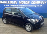 USED 2013 63 VOLKSWAGEN UP 1.0 TAKE UP 5d 59 BHP EXCEPTIONAL LITTLE V/W UP! 1.0 TAKE UP IN METALLIC BLACK  5 DOOR MANUAL FULL V/W SERVICE HISTORY  ONLY £20 A YEAR TAX IDEAL FIRST CAR