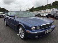 USED 2003 53 JAGUAR XJ 3.6 V8 SE 4d 262 BHP Metallic Blue with Light Grey full leather, beautiful colour scheme & specification