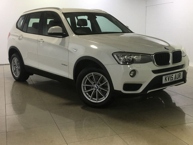 View our 2015 15 BMW X3 2.0 XDRIVE20D SE 5d 188 BHP