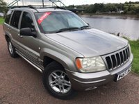 2000 JEEP GRAND CHEROKEE 4.7 LIMITED 5d AUTO 217 BHP £1200.00