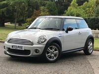 USED 2013 13 MINI HATCH COOPER 1.6 COOPER 3d 122 BHP