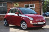 2009 FIAT 500 1.2 LOUNGE 3d 69 BHP £3795.00