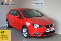 2015 SEAT IBIZA 1.4 TOCA 3d 85 BHP £5695.00