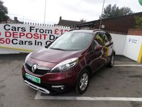 USED 2013 63 RENAULT SCENIC 1.6 XMOD DYNAMIQUE TOMTOM DCI S/S 5d 130 BHP 12 MONTHS MOT... 6 MONTHS WARRANTY.. 1 OWNER FROM NEW... FULL HISTORY