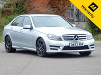 USED 2013 63 MERCEDES-BENZ C CLASS 2.1 C250 CDI BLUEEFFICIENCY AMG SPORT PLUS 4d AUTO 202 BHP