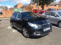 USED 2014 14 PEUGEOT 2008 1.2 ALLURE 5d AUTO 82 BHP TOP SPEC ALLURE, ALLOYS, AIR CON, LOW ROAD TAX AND INSURANCE