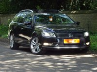 USED 2012 12 VOLKSWAGEN PASSAT 2.0 SPORT TDI BLUEMOTION TECHNOLOGY DSG 5dr AUTO FSH SATNAV PAN ROOF HUGE SPEC