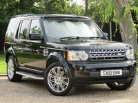 2010 LAND ROVER DISCOVERY 3.0 4 TDV6 HSE 5d AUTO 245 BHP £18990.00