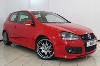 USED 2008 08 VOLKSWAGEN GOLF 2.0 GTI EDITION 30 T 3DR 227 BHP FULL SERVICE HISTORY + HEATED HALF LEATHER SEATS + SAT NAVIGATION + BLUETOOTH + CLIMATE CONTROL + RADIO/CD + 18 INCH ALLOY WHEELS