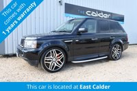 USED 2009 09 LAND ROVER RANGE ROVER SPORT 2.7 TDV6 SPORT HSE 5d 188 BHP