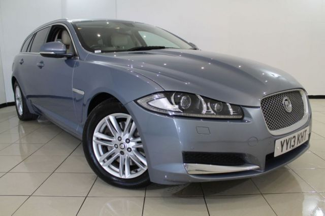 View our 2013 13 JAGUAR XF 2.2 D LUXURY SPORTBRAKE 5DR AUTOMATIC 200 BHP