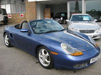 USED 2000 PORSCHE BOXSTER 2.5 SPYDER 2d 201 BHP Full Porsche and specialist History Boxter convertible Climate control